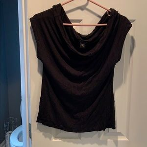 Blouse can be worn off shoulder